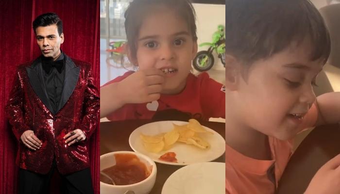 Karan Johar's Kids, Yash And Roohi Johar Are Diet-Policing Him, Barred Him From Eating A Burger