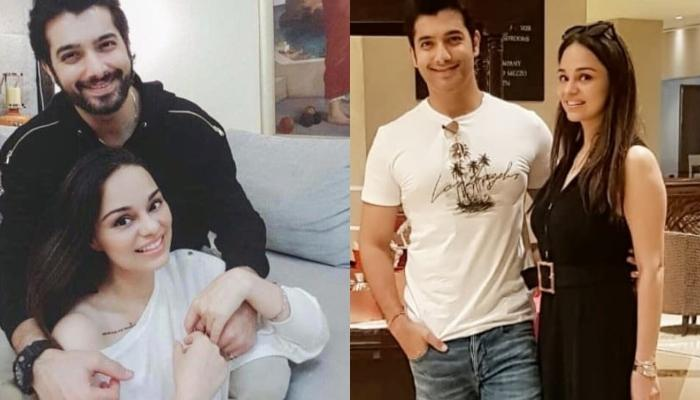 Sharad Malhotra's Wife, Ripci Bhatia Bakes A Chocolate Cake For The First Time On Their Anniversary