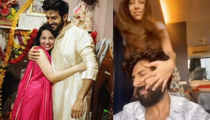 Kartik Aaryan Posts A Funny Video Of Sister, Kritika Tiwari Slapping Him, Calls It His Daily Routine