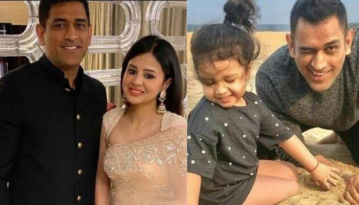 Sakshi Dhoni Calls MS Dhoni And Ziva 'Two Kids' As Daddy Dhoni Gives Bike Ride To His Daughter, Ziva