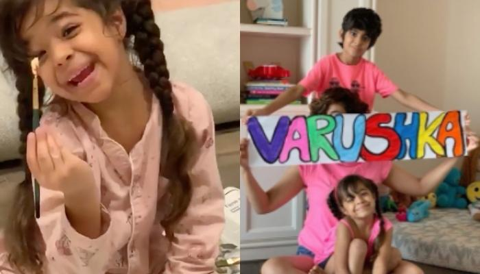 Ayushmann Khurrana And Tahira Kashyap Recycle To Make Props For Varushka's 6th Birthday Celebrations