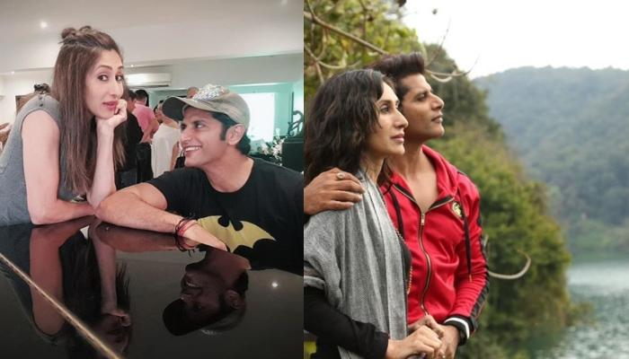 Karanvir Bohra Surprises Wife, Teejay Sindhu With A Homemade Cake On Their 13th Anniversary