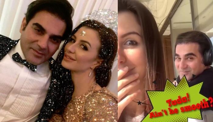 Arbaaz Khan's Girlfriend, Giorgia Adriani Ignited Her Inner 'Billu Barber' For Him In Quarantine