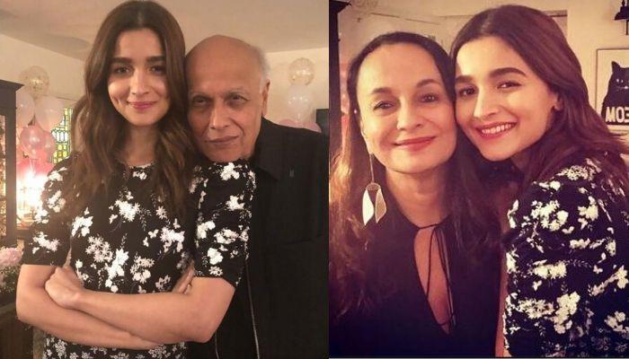 Alia Bhatt Visits Dad, Mahesh Bhatt And Mom, Soni Razdan Amidst The Coronavirus Scare