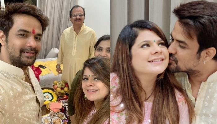 Rucha Gujarathi Radiates Pregnancy Glow On Her 'Godh Bharai' Ceremony Amidst The COVID-19 Lockdown
