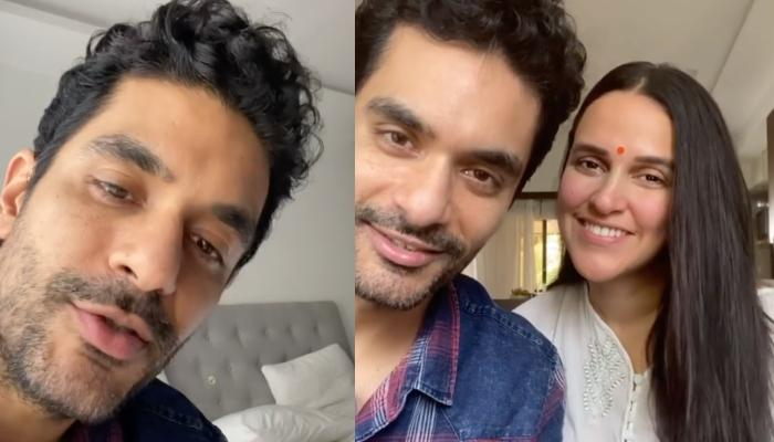 Angad Bedi's Dilemma To Appreciate Or Criticise His Wife Neha Dhupia's Cooking Is Every Husband Ever