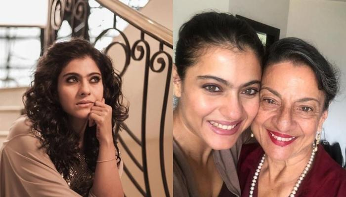 Kajol Misses Meeting Her Mom Tanuja, Shares A Picture On Their '45th Day Of Quarantine Anniversary'