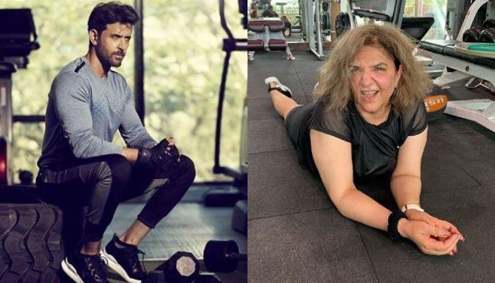 Hrithik Roshan's Mother, Pinkie Roshan Is A Fitness Freak Just Like Her Son, Videos Inside