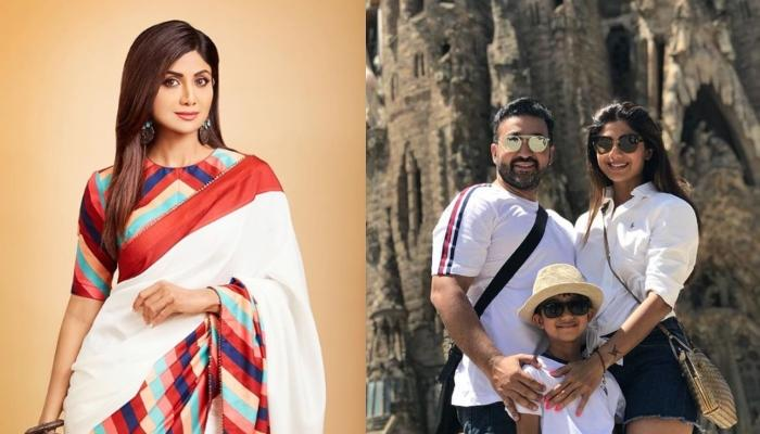 Shilpa Shetty Shares A Picture Of Her 'Perfect' Movie Night With Raj Kundra And Viaan Raj Kundra