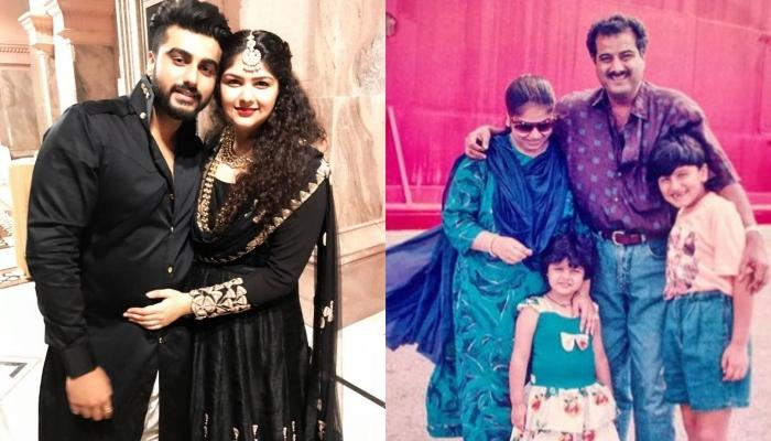 Arjun Kapoor And Anshula Kapoor Look Adorable With Mom, Mona Shourie Kapoor In A Throwback Picture