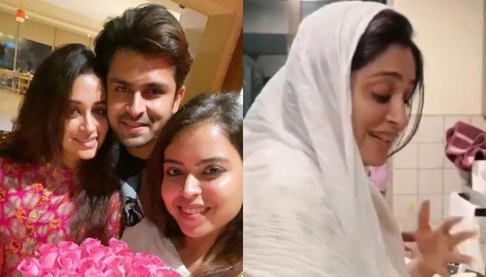Dipika Kakar Spills The Milk While Boiling It, Sister-In-Law, Saba And Hubby, Shoaib Tease Her