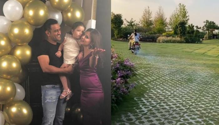 Sakshi Dhoni Shares Video Of Hubby, MS Dhoni Taking Their Daughter, Ziva Dhoni For A Bike Ride Again