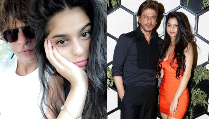 When Suhana Khan Turned Hairstylist For Shah Rukh Khan And Made It A Moment To Cherish For Lifetime