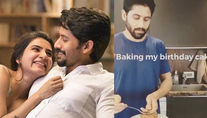 Naga Chaitanya Baking A Cake For Wifey, Samantha Akkineni On Her Birthday Is Winning Hearts