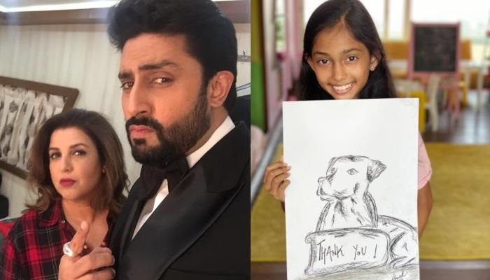 Abhishek Bachchan's 1 Lakh Donation To Farah Khan's Daughter, Anya For Her Sketch Is Winning Hearts