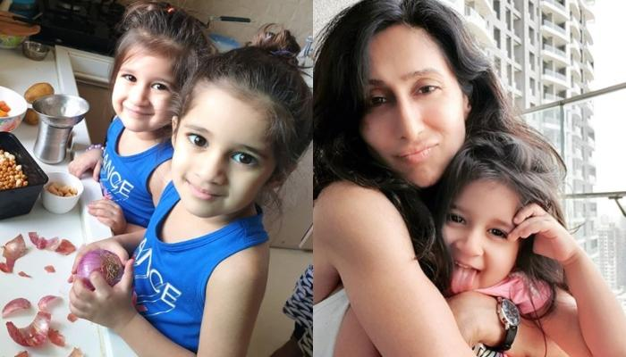 Teejay Sidhu Shares A Goofy Picture With Daughter, Gives A Glimpse Of Their Mommy-Daughter Moment