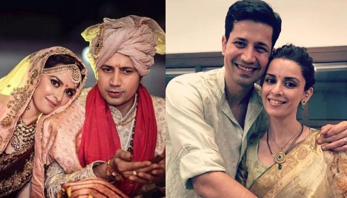 Ekta Kaul And Sumeet Vyas' Unseen Wedding Picture Wherein He Yawns And She Takes A Nap Before Pheras