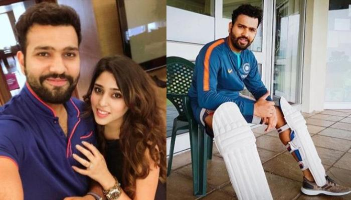 On Rohit Sharma's Birthday, Wife, Ritika Sajdeh Posts A Beautiful Picture And Calls Him The Best Dad