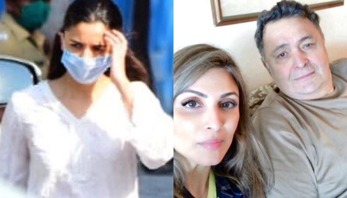 Alia Bhatt Breaks Down While Helping Riddhima Kapoor Attend Her Father, Rishi Kapoor's Funeral