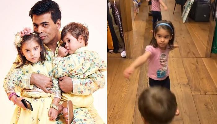 Karan Johar's Daughter, Roohi Doesn't Like His Wardrobe As Son, Yash Advises Him To Change His Style