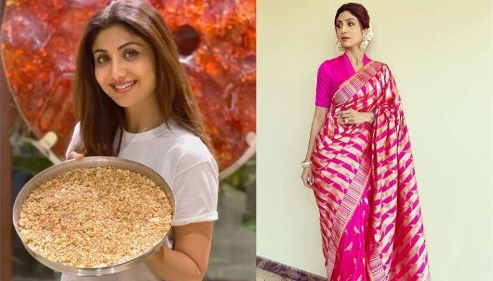 Shilpa Shetty Kundra Celebrates Durga Ashtami, Shares 'Makhana And Gud Ki Barfi' Recipe For 'Vrat'