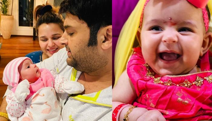Kapil Sharma Shares Pictures Of His 3-Month-Old Daughter, Anayra Sharma's First 'Ashtami Puja'