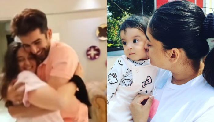 Jay Bhanushali Dances With The Birthday Girl Mahhi Vij, Daughter Tara Gives Her Mommy The Best Gift