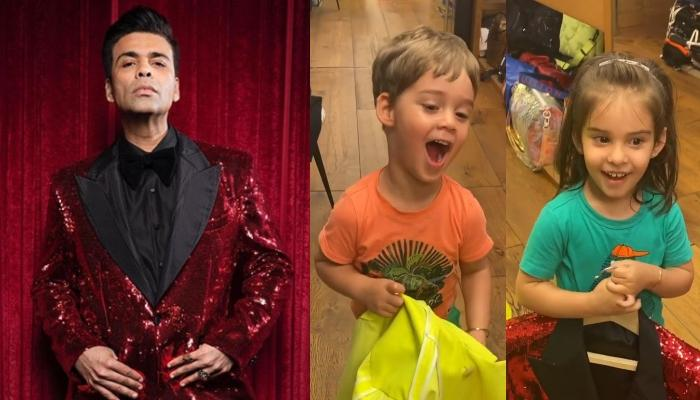 Karan Johar Gets Reality Check On His Wardrobe From His Toddlers, Yash Laughs On His Clothing Choice