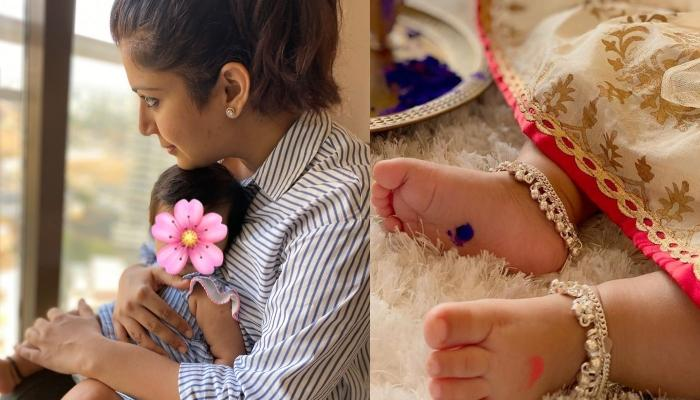Ankita Bhargava Gives Us A Glimpse Of Her Daughter, Mehr Patel's First Ram Navami Puja