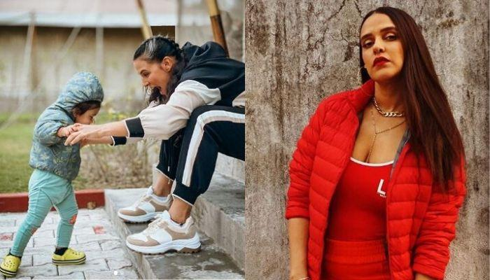 Neha Dhupia Shares Her Lockdown Routine, Spends Time With Daughter, Mehr Dhupia Bedi