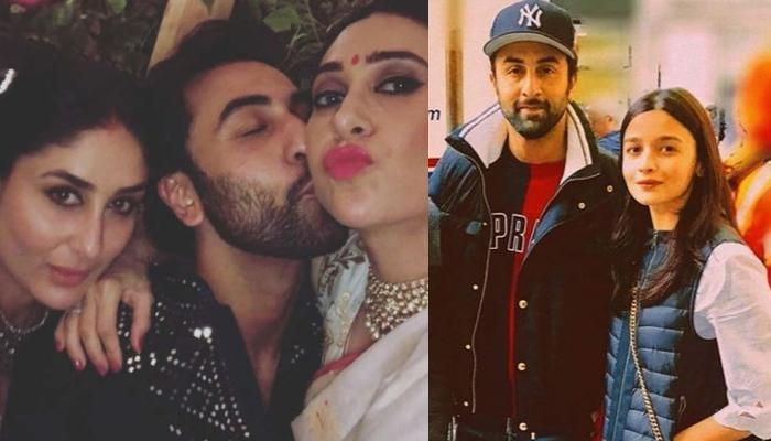 Kareena Kapoor Khan Poses With OG Posers Of Kapoor Clan, Karisma And Ranbir, Alia Bhatt Showers Love