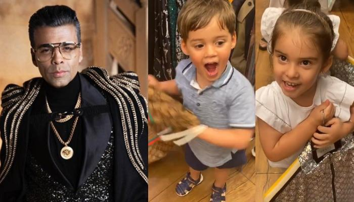 Karan Johar's Kids' 'No Wear Gucci' Rant Goes On, Yash Continues Laughing Over His Clothing Choice