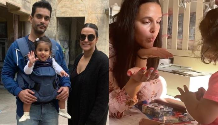 Neha Dhupia's 'Lockdown Love' With Angad Bedi And Mehr Dhupia Bedi Is A Perfect Quarantine 'Mood'
