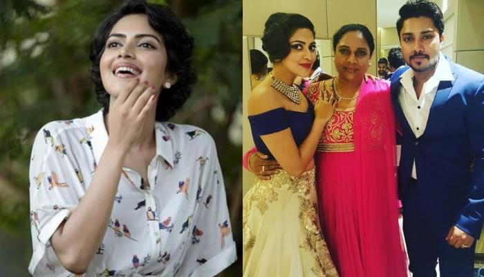 Amala Paul Shares Emotional Note Remembering Her Father, Paul Varghese, Praises Mother And Brother