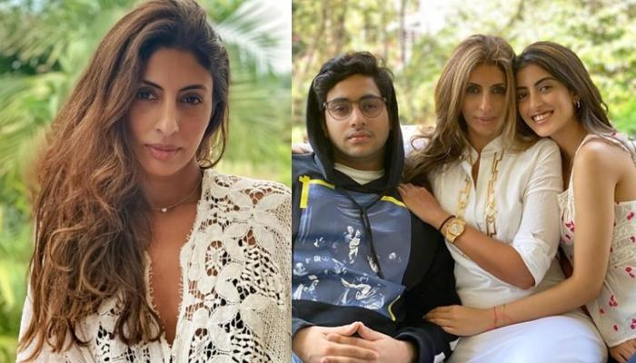 Shweta Bachchan Nanda Shares A 'Progeny Appreciation' Picture Of Navya Naveli And Agastya Nanda