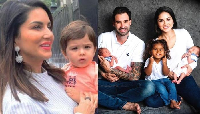 Sunny Leone Posts Video Of Kids, Nisha, Noah, And Asher Getting Self-Entertained During Lockdown