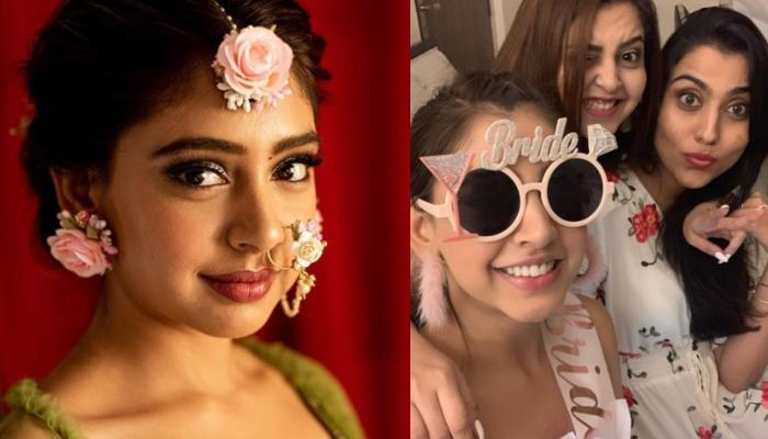 Niti Taylor Enjoys Her Bachelorette Party With Her Girl Gang, Looks Like A Happy Bride-To-Be