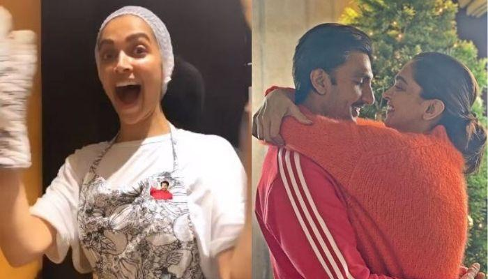 Deepika Padukone Turns Masterchef For 'Pati Parmeshwar' Ranveer Singh As He Showers Her With Love