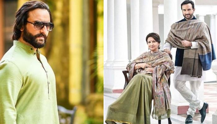 Saif Ali Khan's Mother, Sharmila Tagore Scared Him With Her Reply About Ongoing Coronavirus Pandemic