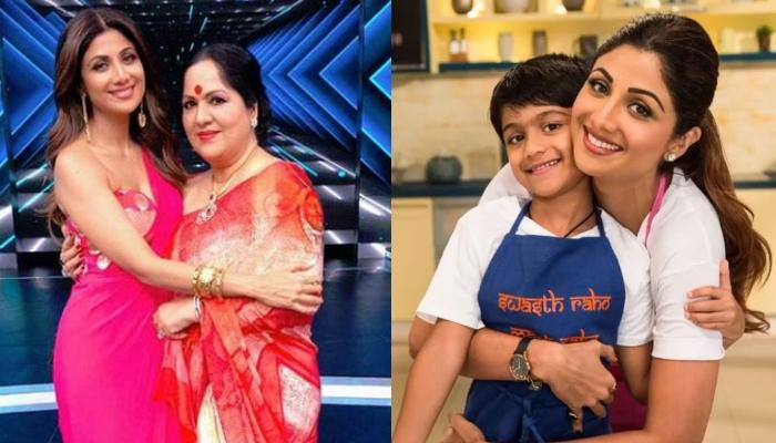 Shilpa Shetty Kundra's Rare Moment With Son, Viaan Recorded By Her Mom, Sunanda Shetty In Quarantine