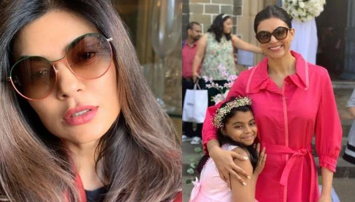 Sushmita Sen Nailed Handstand With Daughter, Alisah In Quarantine, Redefining Mother-Daughter Goals