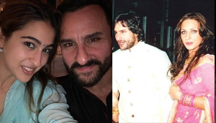 Sara Ali Khan's Rare Childhood Picture With Dad, Saif Ali Khan And His Ex-Girlfriend, Rosa Catalano