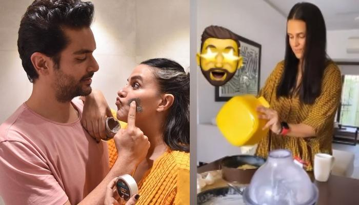 Neha Dhupia Bakes A Cake For Her Darling Hubby, Angad Bedi And Their Daughter, Mehr Bedi