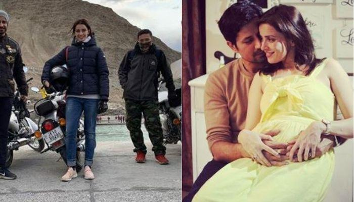 Mommy-To-Be, Ekta Kaul Recalls Being On A Bike Ride To Ladakh Unaware Of Her Pregnancy
