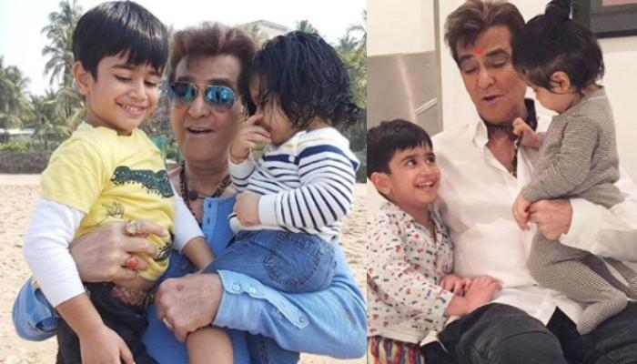 Ekta Kapoor And Tusshar Kapoor Share Unseen Pictures Of Jeetendra With Grandsons, Laksshya And Ravie