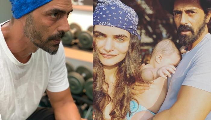 Arjun Rampal Shares An Adorable Wish For His, 'Jaan', Gabriella Demetriades On Her Birthday
