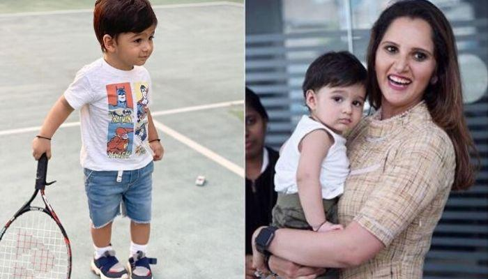 Sania Mirza's Son, Izhaan Mirza Malik Has A Professional Question For His 'Amma'