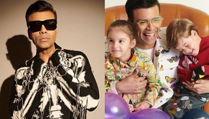 Karan Johar's Kids, Yash Johar And Roohi Johar Plead Him Not To Sing, Accuse Him Of Making Noise