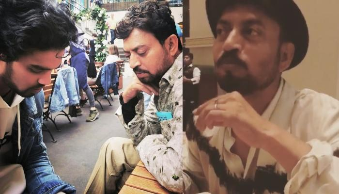 Irrfan Khan's Son, Babil Shares An Unseen Video Of His Father Eating 'Pani Puri' With Utmost Love