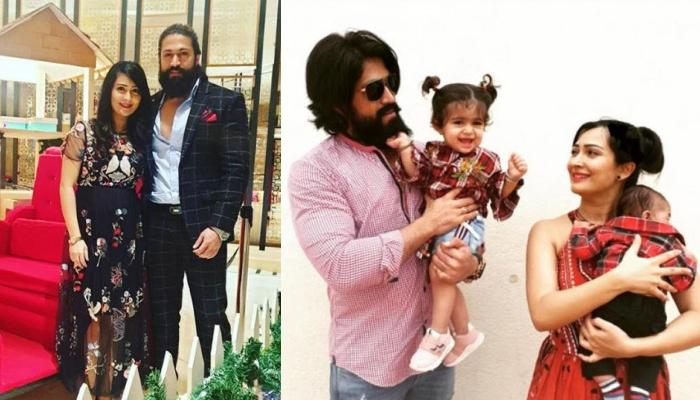 K.G.F. Star, Yash And Wife, Radhika Pandit's First Complete Family Picture With Their Munchkins